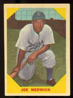 1960 Fleer Baseball Greats Joe Medwick